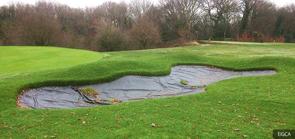 First phase of Astbury Golf Club bunker renovation reaches completion