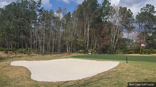 Bunker renovation project completed at Bent Creek Golf Course