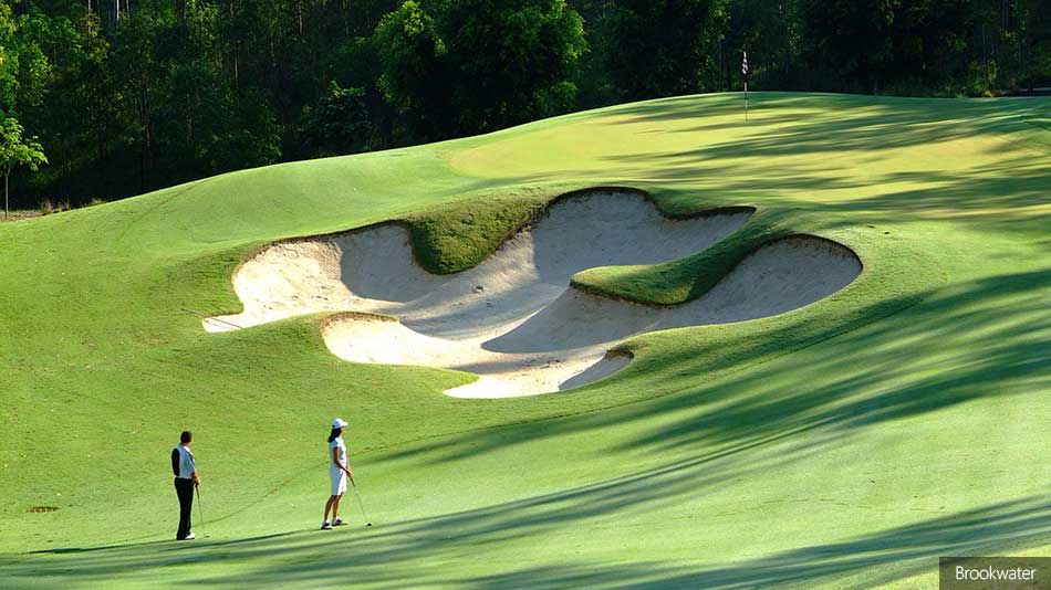 Brookwater reopens following refurb by Greg Norman Golf Course Design