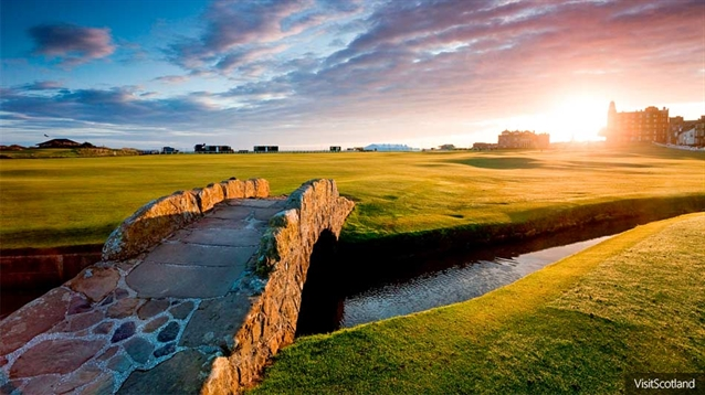Which are the best golf holes in Scotland?