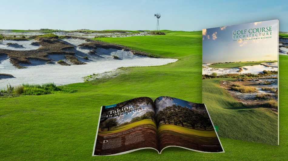 Issue 48 of Golf Course Architecture is out now