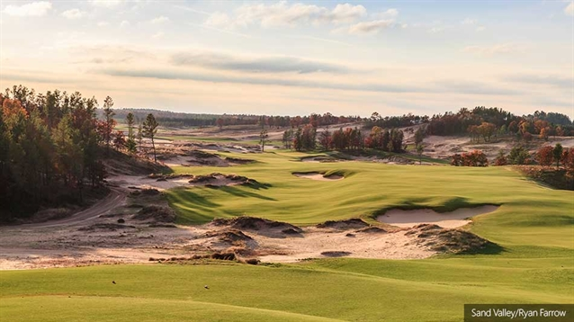 First course at new Sand Valley resort officially opens