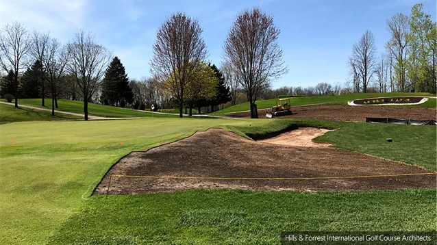 Hills Forrest leads restoration and renovation work at Oneida GCC