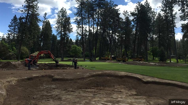 Work to remodel three holes at Manito Golf & Country Club begins