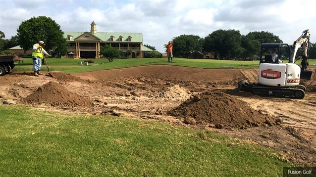 Willow Fork Country Club course undergoes bunker renovation project