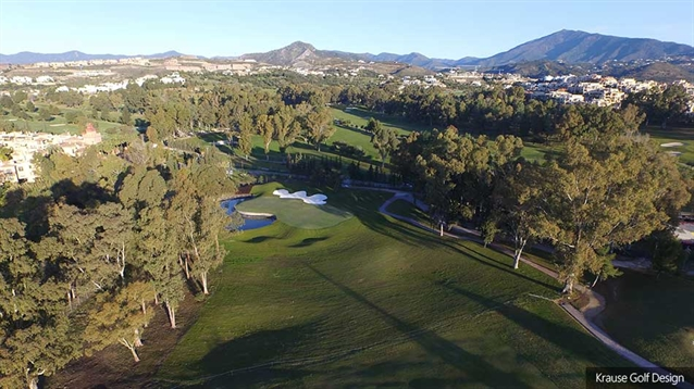 New first hole takes shape on Old Course at Atalaya