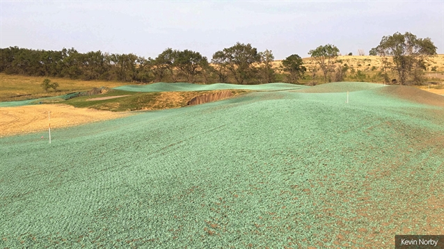Grassing under way at new Fox Hills course in North Dakota