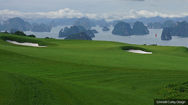 Grassing completed at new Ha Long Bay course in Vietnam