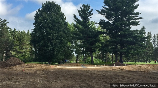 New par three hole being created at Royal Ottawa