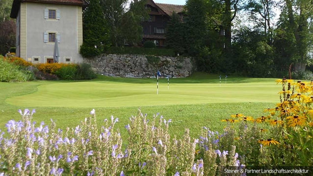 New 'The Alps' putting green for Golfpark Holzhäusern in Switzerland