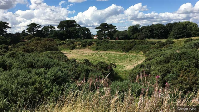 Famous Pandy bunker to be restored at Ganton Golf Club