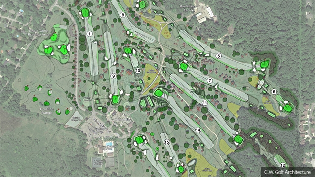 New masterplan unveiled for Country Club of Jackson courses