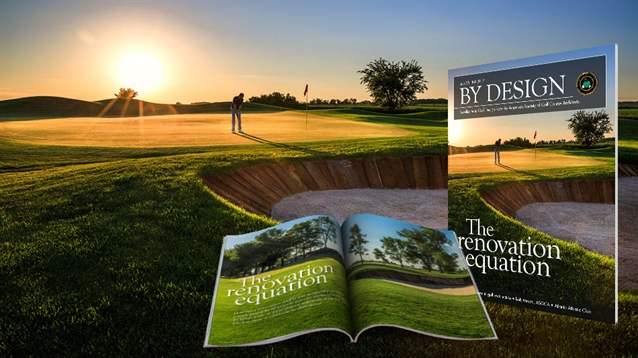 Issue 35 of ASGCA's By Design magazine now available