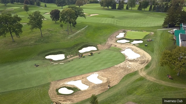Elements of original Ross design being restored at Ohio's Inverness Club
