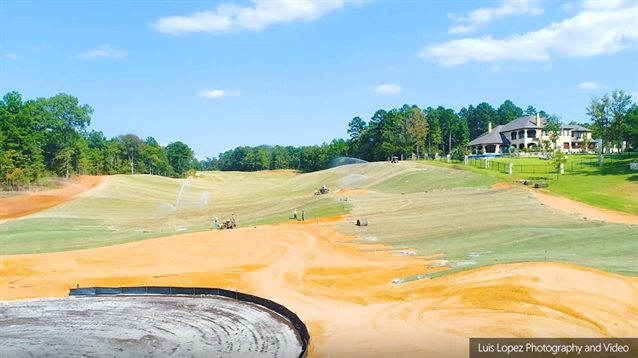 New Tempest Golf Club takes shape in East Texas