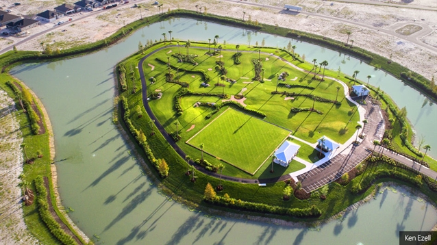 New all-grass practice course and golf facility opens at The Villages