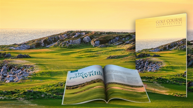 Issue 50 of Golf Course Architecture is out now