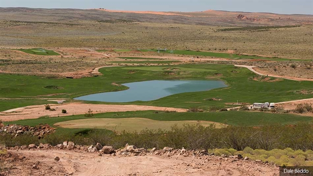 New golf course begins to take shape in south-west Utah