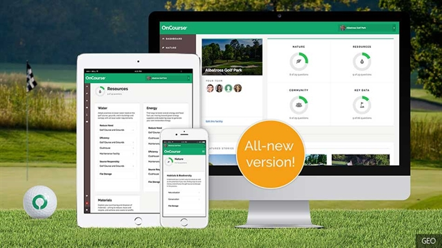Golf Environment Organization launches new version of OnCourse app