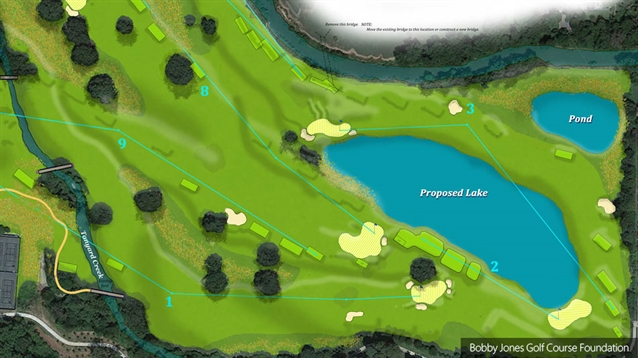 Bobby Jones Golf Course closes for major renovation project
