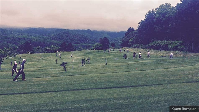 The Japanese phenomenon of park golf