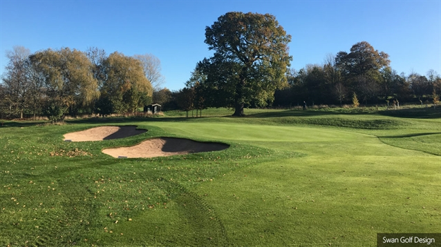 Bunker project reaches completion at Wellingborough Golf Club
