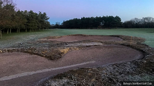Changes being made to third hole at Bishop's Stortford Golf Club
