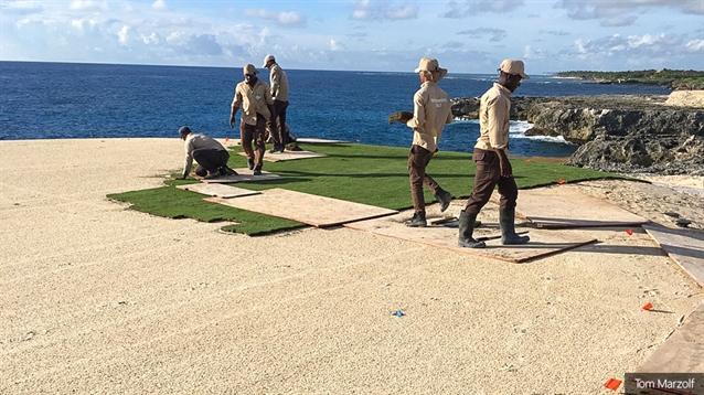 Progress made on rebuild of Corales GC course following hurricane damage