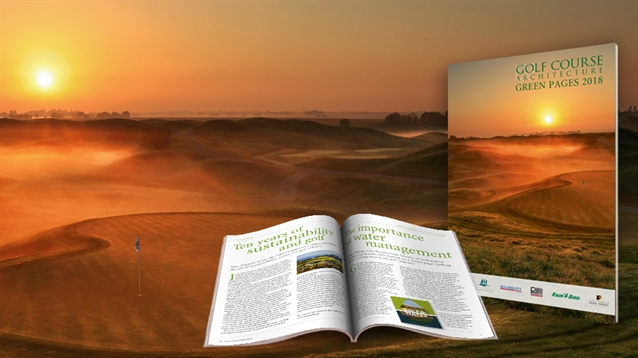 Golf Course Architecture Green Pages 2018 is available now