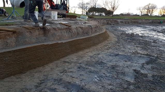 Golf Club Lignano introduces EcoBunker's Aquaedge solution