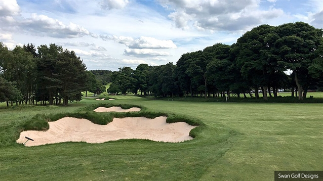 Second phase of bunker renovation work completed at Huddersfield GC