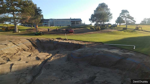 Renovations underway at Meadow Springs CC golf course