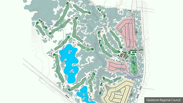 Golf course forms part of proposed new retirement village in Queensland