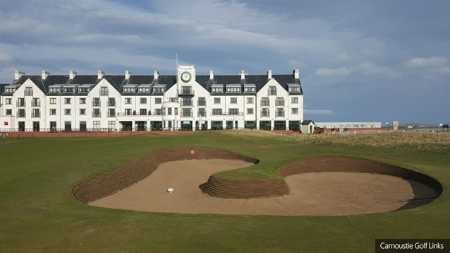 Carnoustie Golf Links prepares for 2018 Open Championship