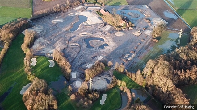 Extension of Golf Course Ahaus from 27 to 36 holes nears completion