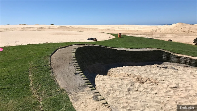 Bunkers at Rancho San Lucas course take shape with EcoBunker