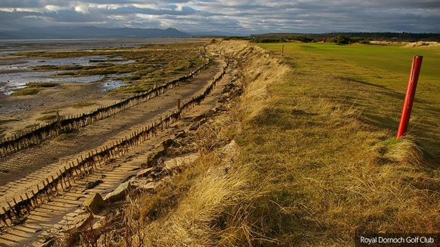 Royal Dornoch to tackle coastal erosion with rebuilt natural defences