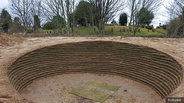 EcoBunker makes new addition to practice facility at Tain Golf Club
