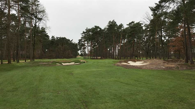 Bruno Steensels completes bunker project at Royal Limburg