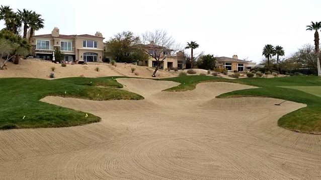 Red Rock renovates bunkers on Mountain course