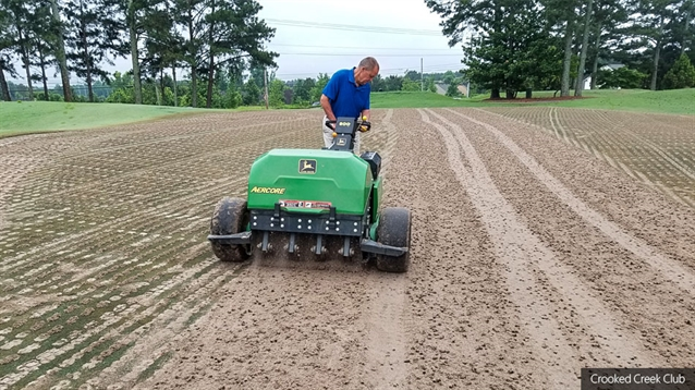 Crooked Creek Club makes transition to Primo Zoysia