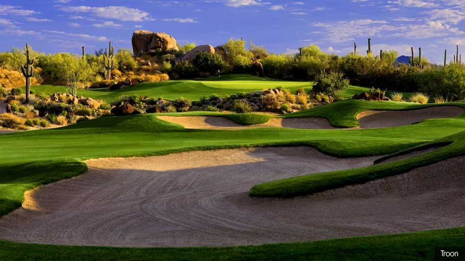 Renovation work begins at Troon North's Pinnacle course