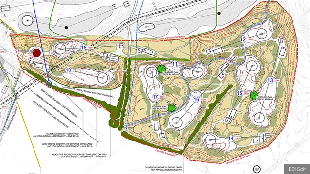 Cumberwell Park begins construction on nine more par threes