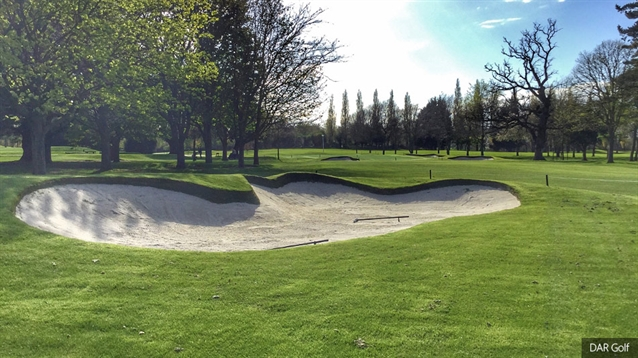 Hermitage renews bunkers and green surrounds on front nine