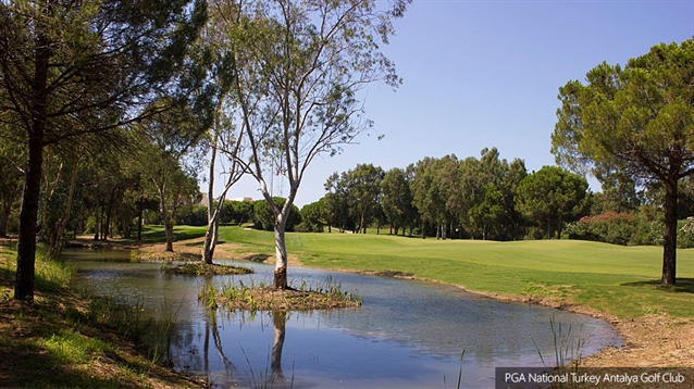 New lake added to Sultan course at PGA National Turkey