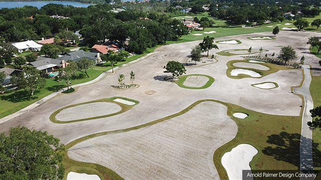 Palmer team completes new short game facility at Bay Hill