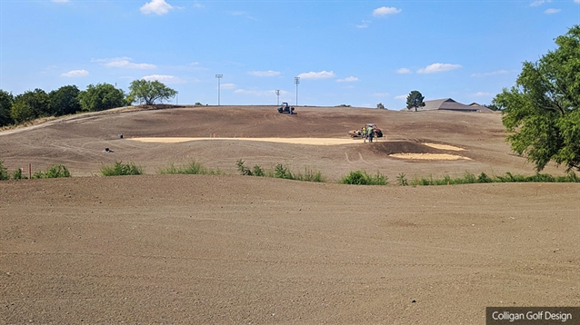 Irving Golf Club grassed and on track for autumn opening