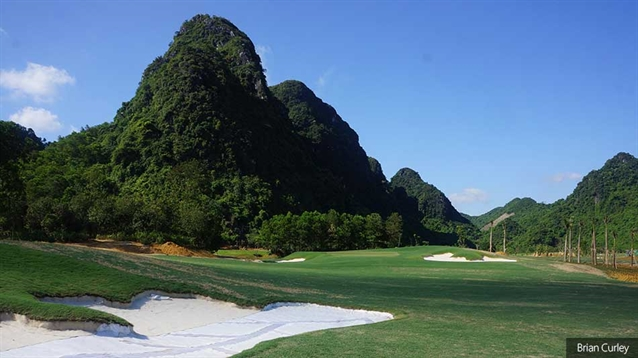 Soft opening for new course at Stone Valley in Vietnam
