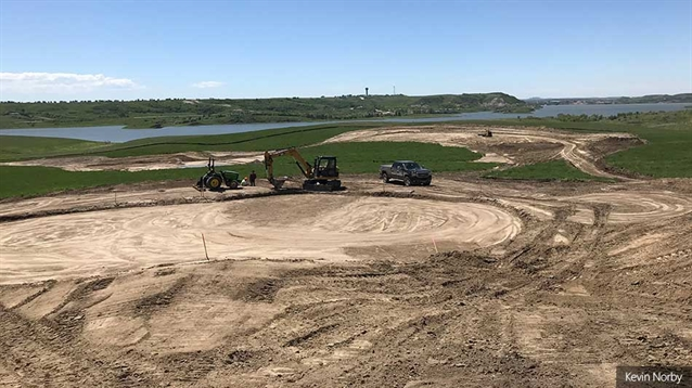Norby adds three new holes to Edgewater course in North Dakota