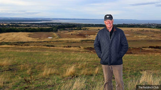 Weiskopf oversees progress of new course overlooking St Andrews